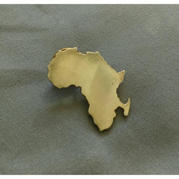 Africa Jewelry - Africa Pin